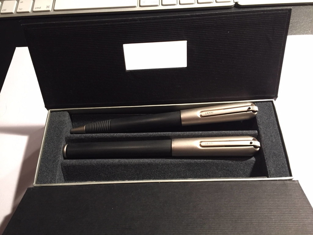 Lamy Persona 23: Füllfederhalter und Kugelschreiber.